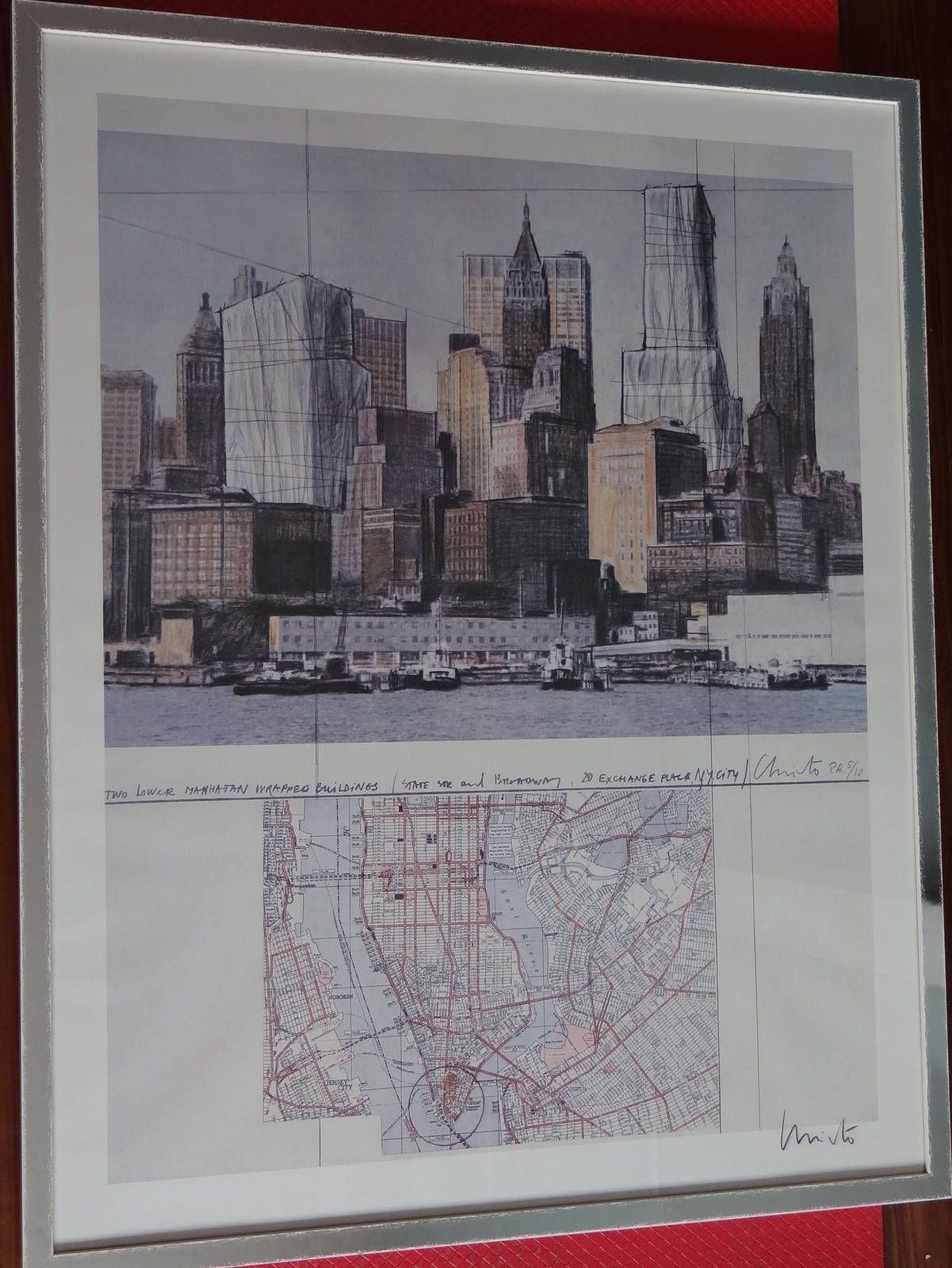 Christo Two Lower Manhattan