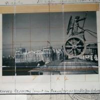 Christo Reichstag 1992 Angebot