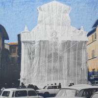Christo Wrapped Fountain Angebot