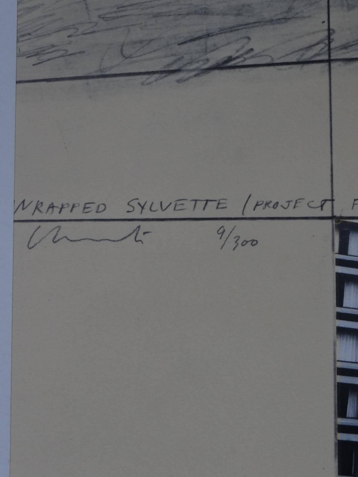 Christo Wrapped Sylvette