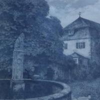 Franz Hecker Am Brunnen Angebot