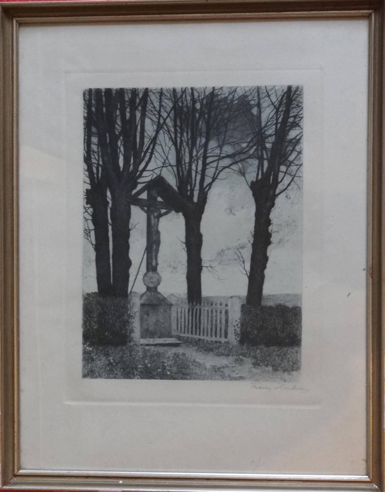 Franz Hecker Kreuz am Wege
