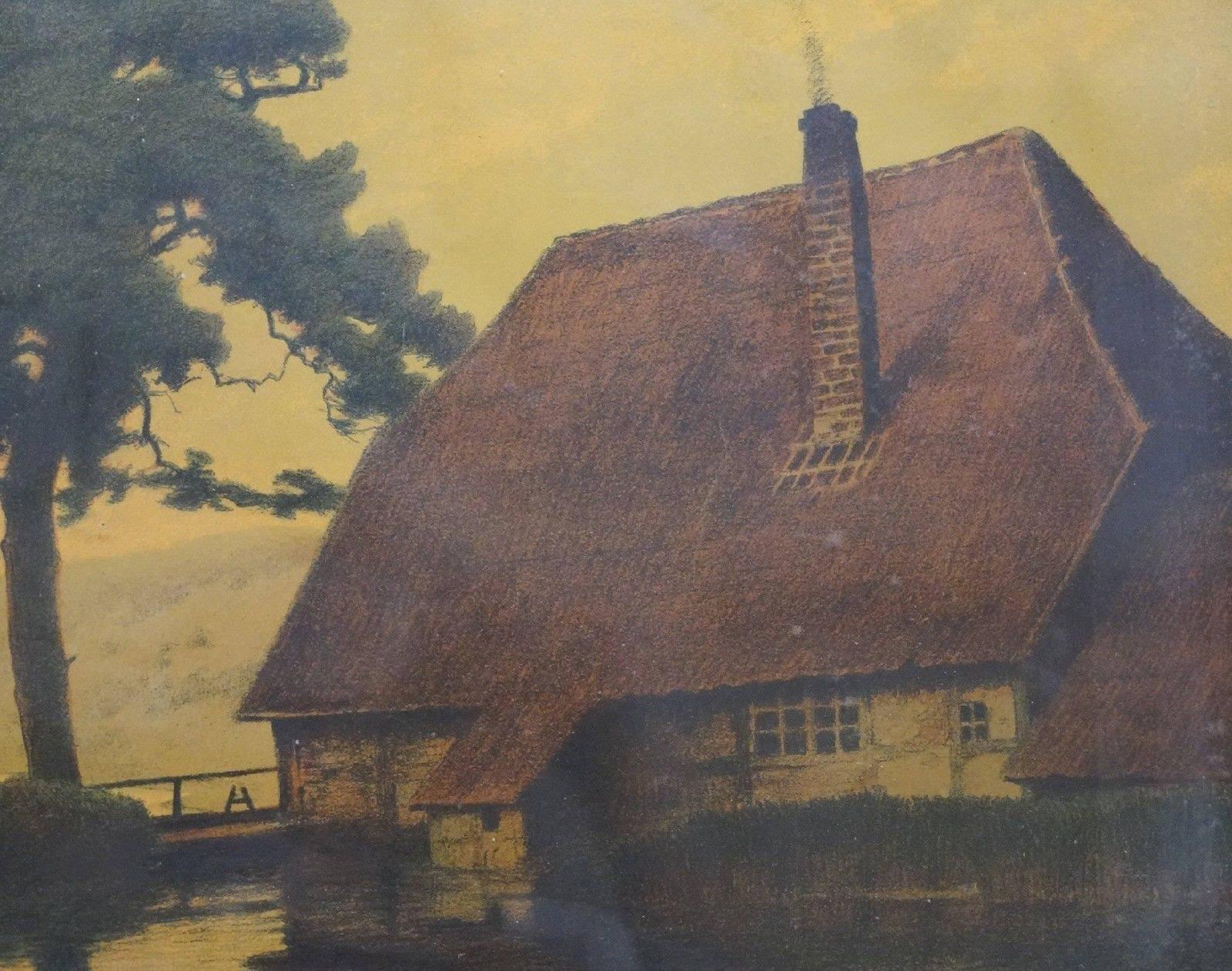 Franz Hecker Mühle am Weiher