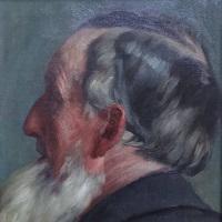 Franz Hecker Ölbild Angebot