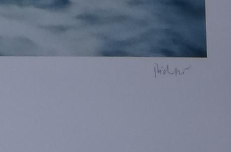 Gerhard Richter Seestück Gegenlicht