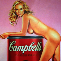 Mel Ramos Sandy Soup Angebot
