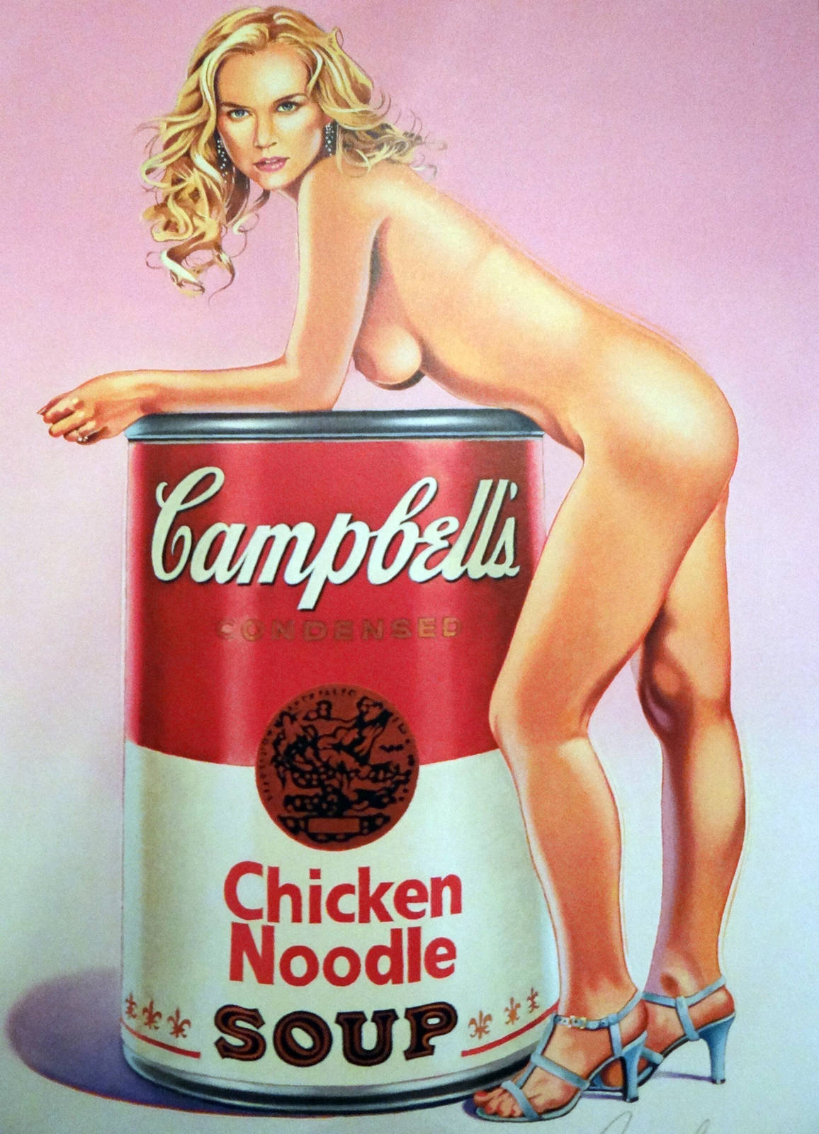 Mel Ramos Sandy Soup