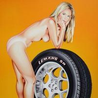 Mel Ramos Tyre Tira Angebot