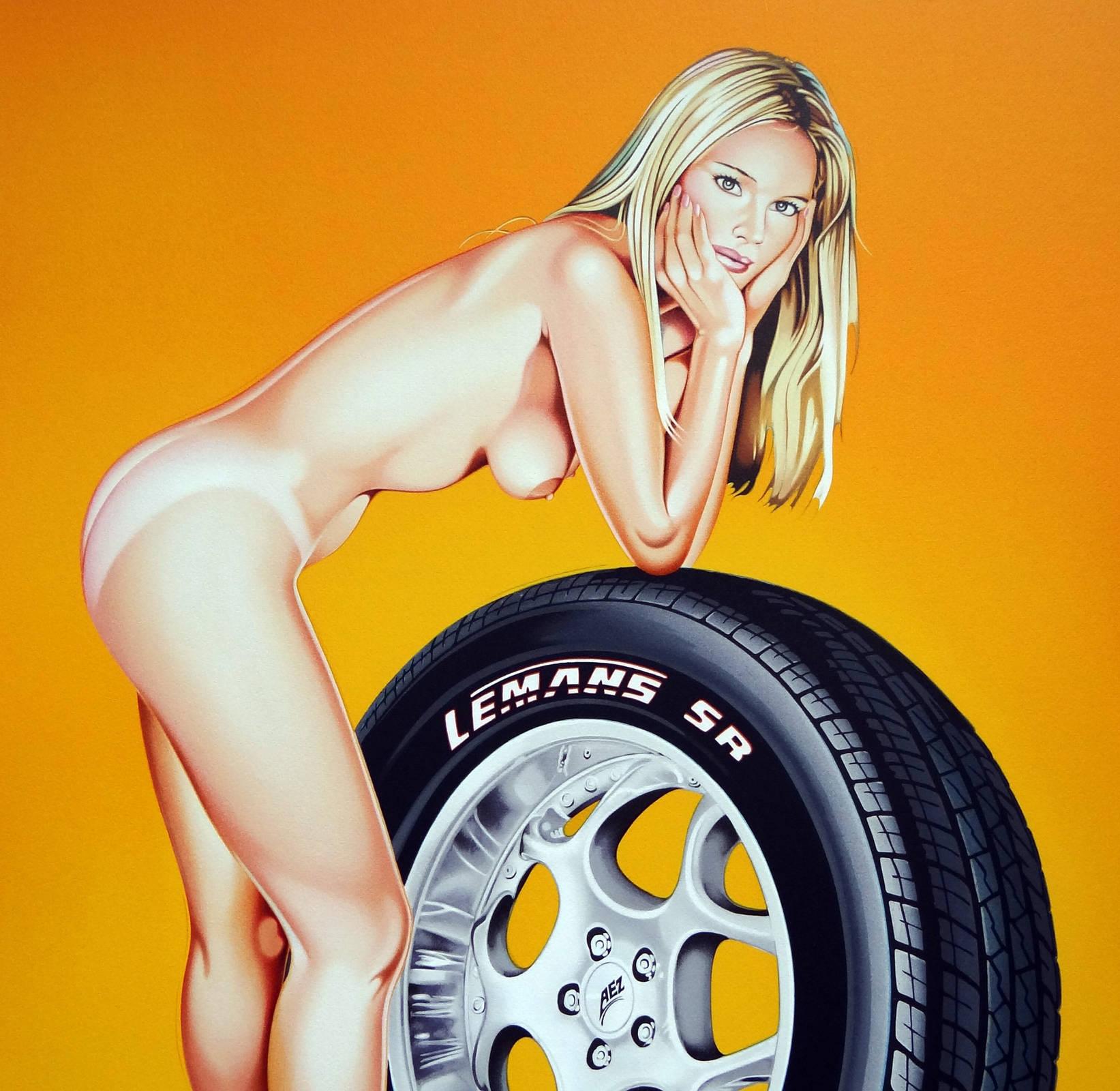Mel Ramos Tyra Tire