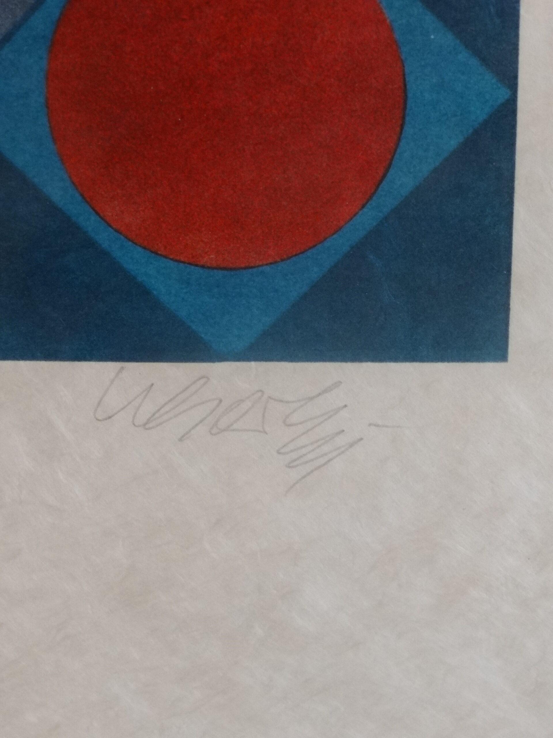 Victor Vasarely ohne Titel