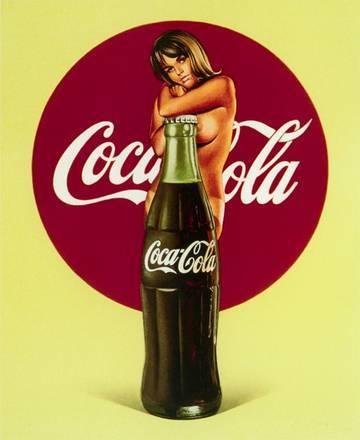 Mel Ramos Lola Cola