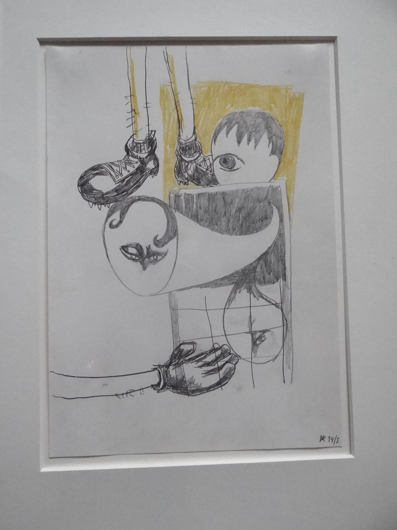 Daniel Richter Zeichnung