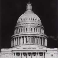 Robert Longo ohne Titel (Capitol Detail)
