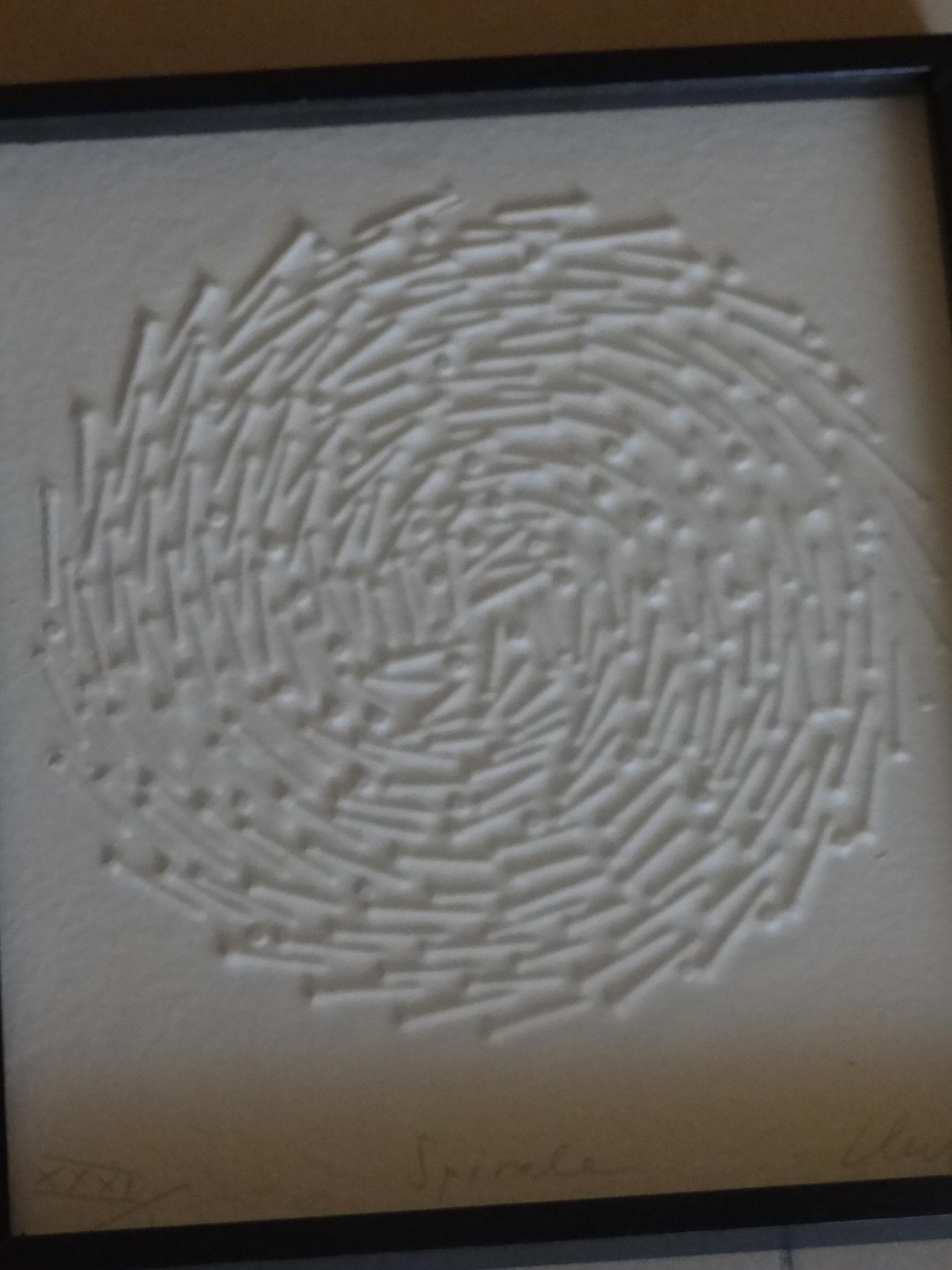 Günther Uecker Spirale